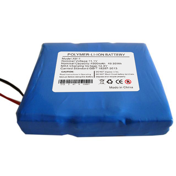 Alcohol testing equipment battery